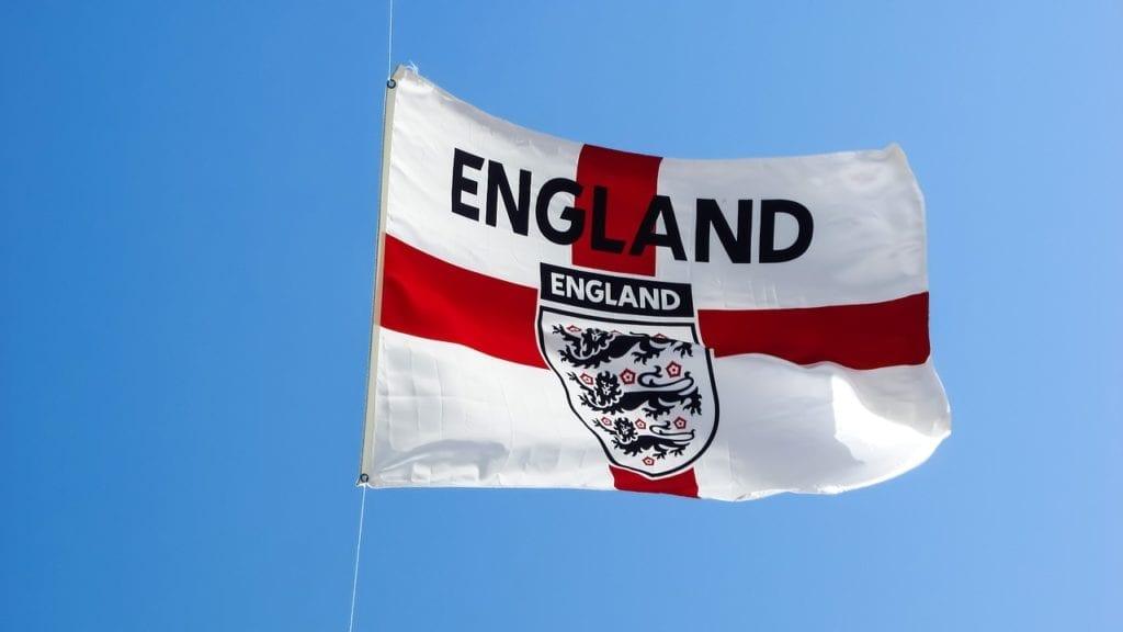 anglie vlajka narodniho tymu