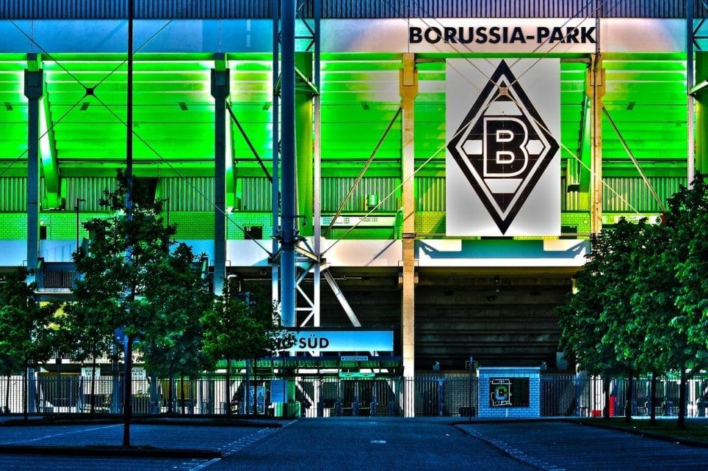 monchengladbach Borussia Park zvenku