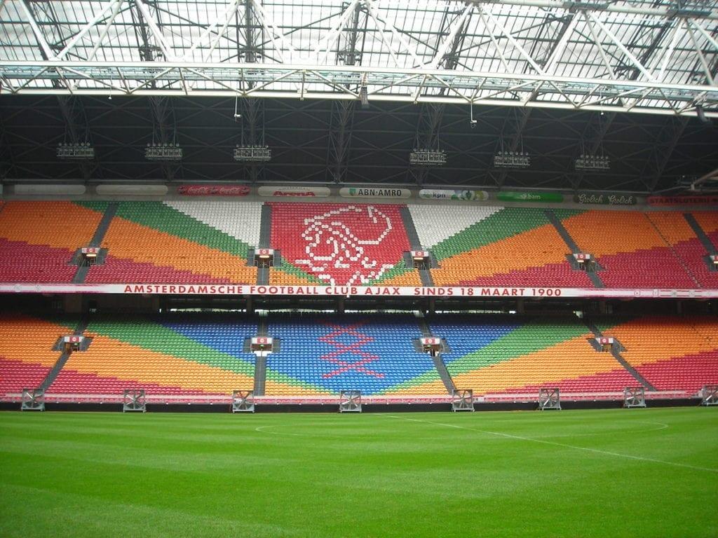 Ajax Amsterdam arena By Pmk58 - Own work, CC BY-SA 4.0