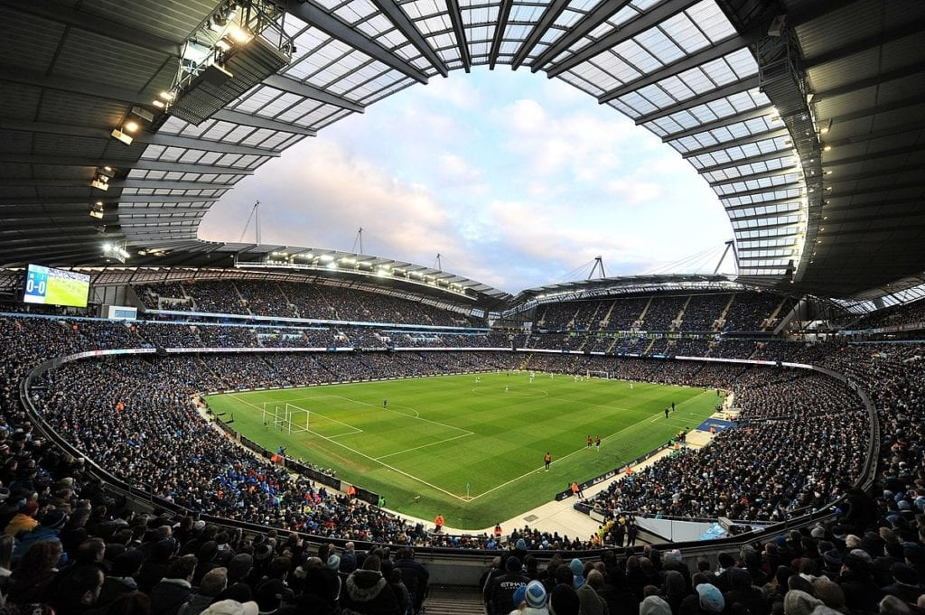 Manchester City Etihad Stadium By Profile - Etihad Stadium, CC BY 2.0