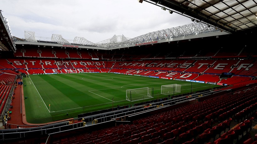 Manchester United Old Trafford zdroj cpfc.co.uk