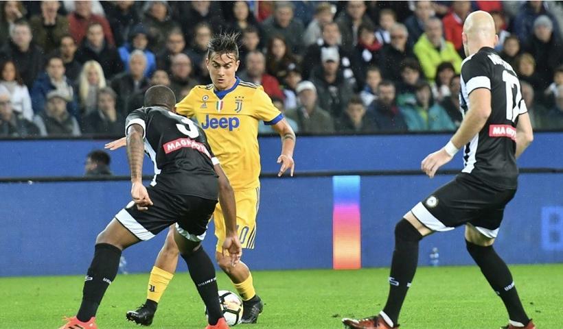 Juventus Paulo Dybala zdroj udinese.it